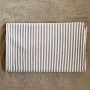 Vintage Striped Cotton/Poly Blend Fabric 2y X 60""